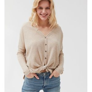 Out From Under Urban Outfitters Thermal Top